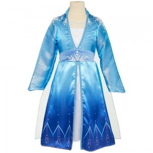 Disney Frozen 2 Elsa Travel Dress, Size: Small, MultiColored - Clearance Sale