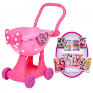 Disney Minnie's Happy Helpers Bowtique Shopping Cart - Clearance Sale