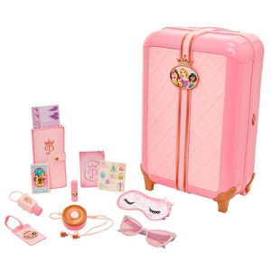 Disney Princess Style Collection Play Suitcase Travel Set - Clearance Sale