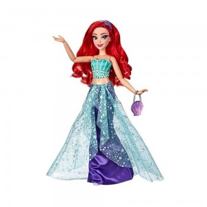 Disney Princess Style Series Ariel Doll with Purse and Shoes - Clearance Sale
