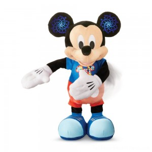 Mickey Mouse Hot Dog Dance Break Plush - Clearance Sale