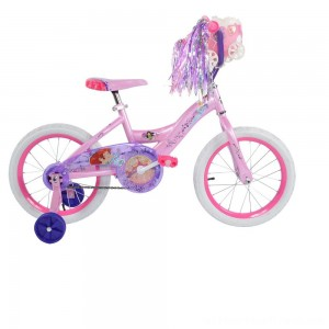 "Huffy Disney Princess Bike 16"" - Pink, Girl's - Clearance Sale"