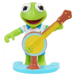 Disney Junior Muppet Babies Poseable Kermit - Clearance Sale