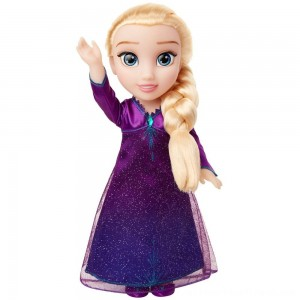 Disney Frozen 2 Into The Unknown Singing Feature Elsa Doll - Clearance Sale