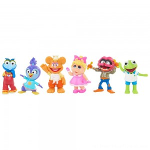 Disney Junior Muppet Babies Playroom Figure Set - Clearance Sale