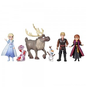 Disney Frozen 2 Adventure Collection, 5 Small Dolls from Frozen 2 - Clearance Sale