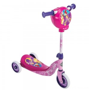 Huffy Disney Princess Secret Storage Scooter, Kids Unisex, Pink - Clearance Sale