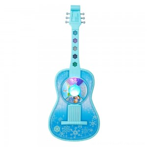 Disney Frozen Magic Touch Guitar with Lights and Sounds - Clearance Sale