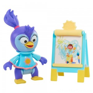 Disney Junior Muppet Babies Poseable Summer Penguin - Clearance Sale