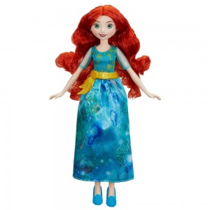 Disney Princess Royal Shimmer - Merida Doll - Clearance Sale