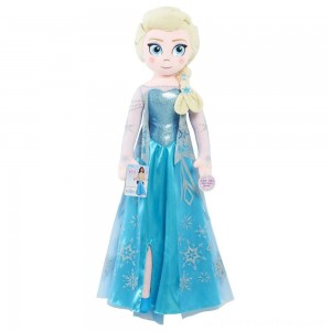 Disney Frozen Jumbo Singing Elsa - Clearance Sale