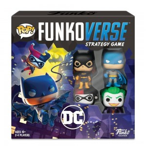 Funkoverse Board Game: DC Comics #100 Base Set - Clearance Sale