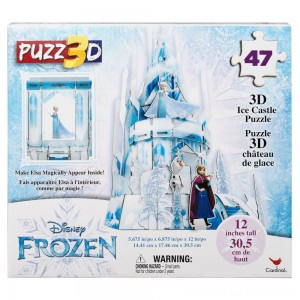 Cardinal Disney Frozen 3D Hologram Ice Castle Puzzle 47pc, Kids Unisex - Clearance Sale