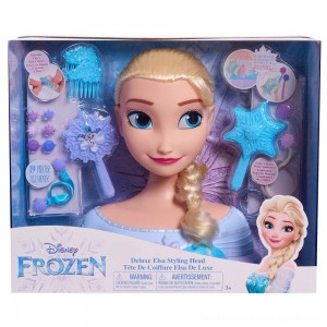 Disney Princess Elsa Deluxe Styling Head - Clearance Sale
