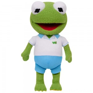 Disney Junior Muppet Babies Kermit Plush - Clearance Sale