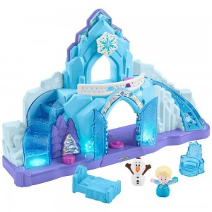 Fisher-Price Little People Disney Frozen Elsa's Ice Palace - Clearance Sale