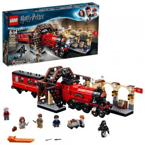 LEGO Harry Potter Hogwarts Express Train Set with Harry Potter Minifigures and Toy Bridge 75955 - Clearance Sale