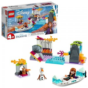 LEGO Disney Princess Frozen 2 Anna's Canoe Expedition 41165 Frozen Adventure Easy Building Kit 108pc - Clearance Sale