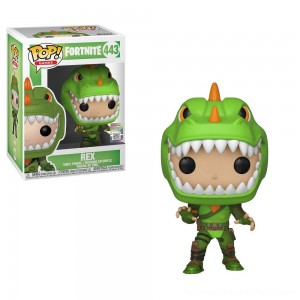 Funko POP! Games: Fortnite - Rex - Clearance Sale