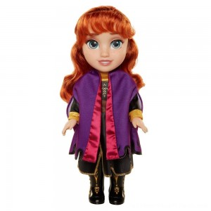 Disney Frozen 2 Anna Adventure Doll - Clearance Sale