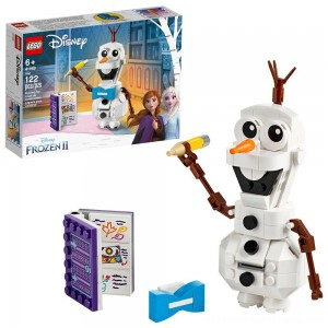 LEGO Disney Frozen 2 Olaf 41169 Olaf Snowman Toy Figure Building Kit 122pc - Clearance Sale