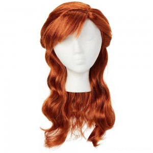 Disney Frozen 2 Anna Wig, Red - Clearance Sale