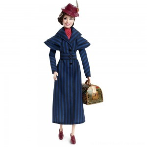 Barbie Collector Disney's Mary Poppins Returns: Mary Poppins Doll - Clearance Sale