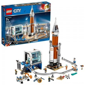 LEGO City Space Deep Space Rocket and Launch Control 60228 Model Rocket Building Kit with Minifigures - Clearance Sale