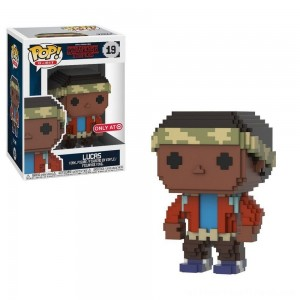 Funko 8-Bit POP: Stranger Things S3 - Lucas - Clearance Sale