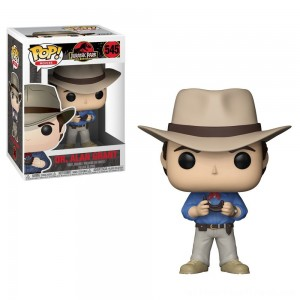 Funko POP! Movies: Jurassic Park 25th Anniversary - Dr. Alan Grant - Minifigure - Clearance Sale