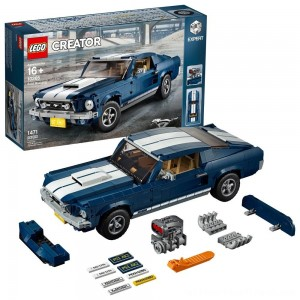 LEGO Creator Expert Vehicles Ford Mustang 10265 - Clearance Sale