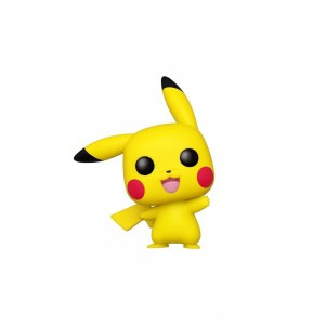 Funko POP! Games: Pokemon - Pikachu (Waving) - Clearance Sale