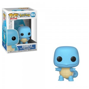 Funko POP! Games: Pokemon - Squirtle - Clearance Sale