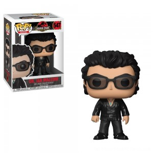 Funko POP! Movies: Jurassic Park 25th Anniversary - Dr. Ian Malcolm - Minifigure - Clearance Sale