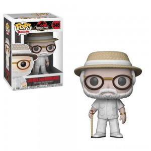 Funko POP! Movies: Jurassic Park 25th Anniversary - John Hammond - Minifigure - Clearance Sale