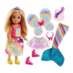 Barbie Dreamtopia Chelsea Doll and Fashions - Clearance Sale