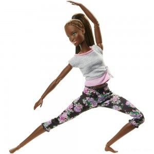 Barbie Made To Move Yoga Nikki Doll - Clearance Sale