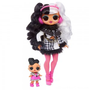 L.O.L. Surprise! O.M.G. Winter Disco Dollie Fashion Doll & Sister - Clearance Sale