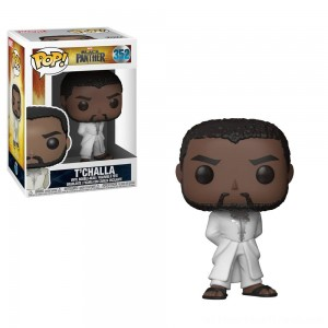 Funko POP! Marvel: Black Panther - T'Challa in White Robe - Clearance Sale