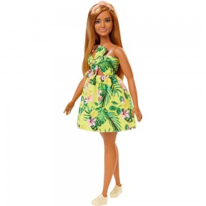 Barbie Fashionistas Doll #126 Jungle Dress - Clearance Sale