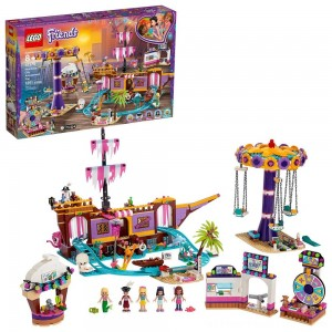 LEGO Friends Heartlake City Amusement Park with Toy Rollercoaster Building Set with Mini Dolls 41375 - Clearance Sale