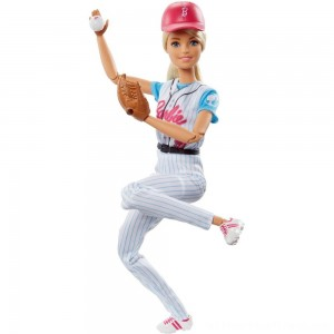 Barbie Made to Move Baseball Player Doll - Clearance Sale