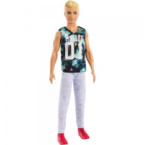 Barbie Ken Fashionistas Doll - Game Sunday - Clearance Sale