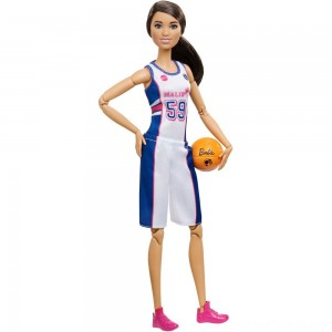 Barbie Made to Move Basketball Player Doll - Clearance Sale