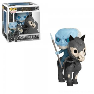 Funko POP! Rides: Game of Thrones - White Walker on Horse - Clearance Sale