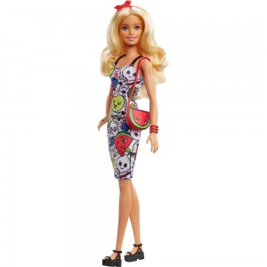 Barbie Crayola Color-in Fashions Doll & Fashions - Clearance Sale