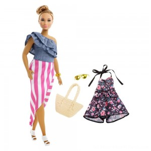 Barbie Fashionista Bon Voyage Doll - Clearance Sale