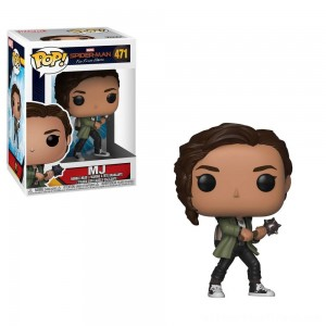 Funko POP! Marvel: Spider-Man: Far From Home - MJ - Clearance Sale