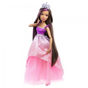 "Barbie Dreamtopia Princess 17"" Nikki Doll - Clearance Sale"