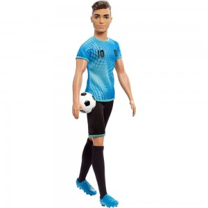 Barbie Ken Career Soccer Player Doll - Clearance Sale